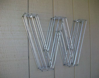 Wire letter Topiary Frames