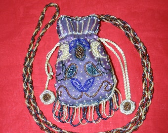 A Small Beaded Reticule