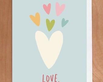 LOVE A2 Card (2-33C)