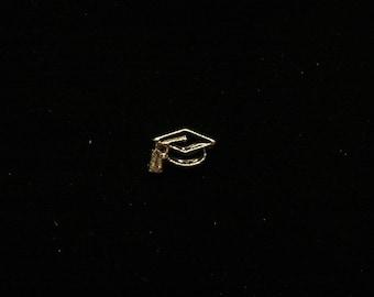 Graduation Cap floating charm fits Origami Owl lockets
