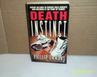 Death Intinct by Phillip Emmons a k a Bentley Little 1992 First Pring RARE!!!