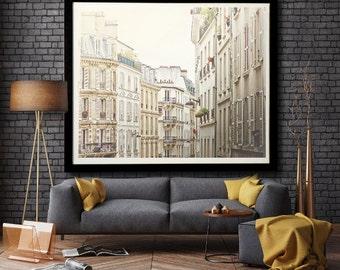 Montmartre Morning, Paris photography, Paris art print, large photography