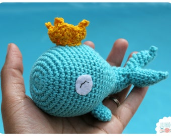 Whale Crochet Pattern PDF Instant Download
