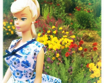 Barbie Doll Dress, Barbie Doll Clothes, Barbie Clothes, Barbie Clothes Handmade, Barbie Vintage, Barbie Dresses