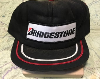 Your Dads Hats: Vintage Bridgestone Tires Trucker Hat