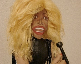 Tina Turner Art Doll-Ooak  (Made to Order by Request)