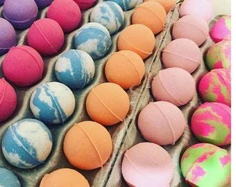 Bath Bombs/7 BOMBS YOUR CHOICE/Bath Fizzy/bath bomb set/bath bomb gift set/bath bomb favors/mother's day gift/bath fizzy/gifts for her