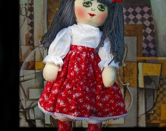 Doll / rag doll / home decor / toy / games