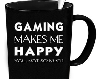 Gaming coffee mug 11 oz. Gamer gift. Gaming coffee mug.