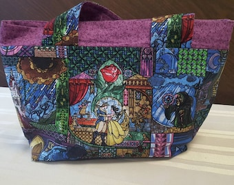 Beauty and the Beast Shoulder Bag