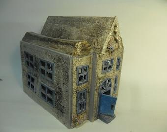 porcelain ceramic house