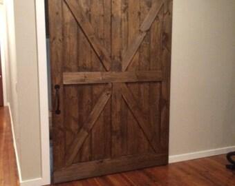 Farmhouse barn doors