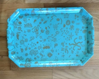 Ray Eames - Sea Things Tray - Waverly Products - MCM - Mid-Century Modern