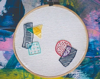 Abstract Modern - Hand Embroidery