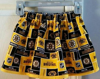 Yellow Boston Bruins skirt