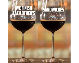 Engagement Gift for Couple~ Couples Gift Glasses ~ Stemless Wine Glasses~ Same Sex Couple~ Wedding Gift for Couple~ Personalized wine glass