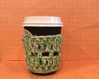 Chunky Crochet Cup Coffee or Tea Cozy
