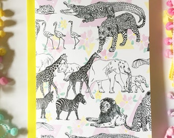 A5 Serengeti Card