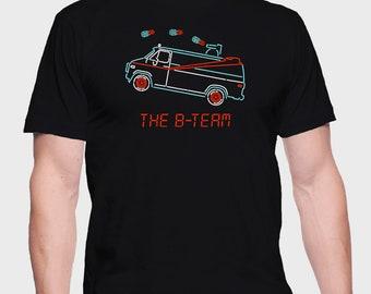 B-Team Van - A-Team T-Shirt - A-Team Shirt - A-Team Tee - ATeam T-Shirt - ATeam Shirt - ATeam Tee - T-Shirt for truckers