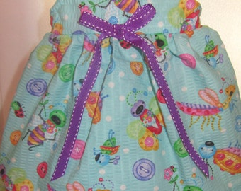 READY to SHIP Bugs Life Doll Dress will fit Bitty Baby or any 15 inch doll