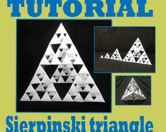 3 D Sierpinski Triangle Geometrical Tutorial