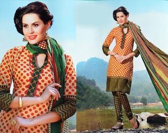 Readymade New Designer Bollywood Indian/Pakistani Anarkali Suit.
