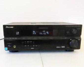 Pioneer VSX-515 6.1 Channel 660 Watt Audio/Video Receiver w/user manual