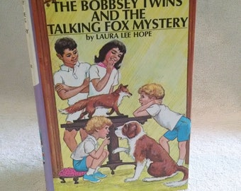 The Bobbsey Twins Vintage Book The Talking Fox Mystery