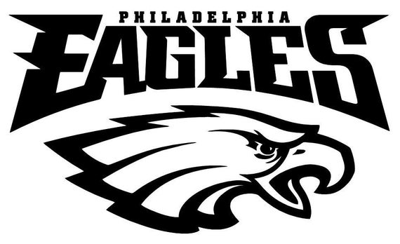 sc 1 st  Etsy & Philadelphia Eagles NFL logo football sticker wall decal 084