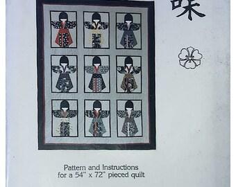 MYOMI Japanese Kimono Quilt Kit