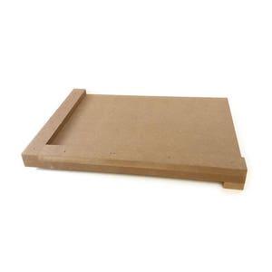 Lino Cutting / Lino Printing Board - MDF - Designed To Take 300mm x 200mm Sheet