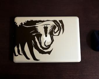 The Nightmare, Incubus, Apple decals, Stickers , Vinyl, Laptops, mac, Dream, Hallucination, Horror, Ordeal, Vision, Macbook Decal Sticker