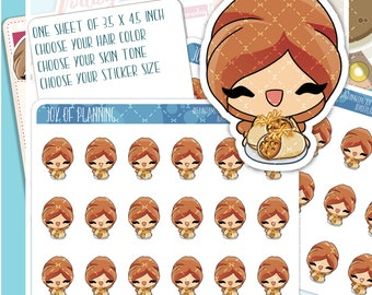 Burrito stickers, burrito planner, burrito takeaway stickers, Chipotle stickers, fast food planner, fast food stickers JOP006
