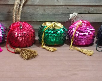 Made To Order - Dragonscale Dice Bags