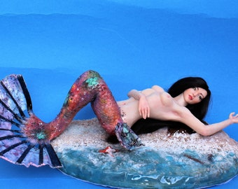 Ooak Sensuality Mermaid