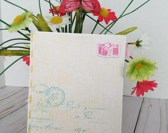 Remember handmade scrapbook mini album