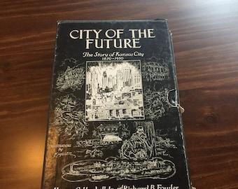 Story of Kansas City Missouri books in slipcase 1850-1950 rare