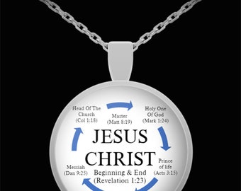 Christ necklace