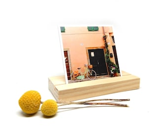Wooden Stand for 2018 Desk Calendar Photo Display
