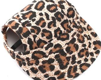 Cheetah Dog Hat