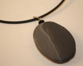 Faux Stone Pendant
