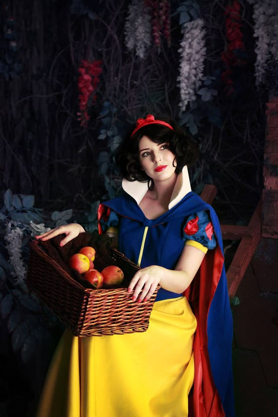 Snow White cosplay costume adult Disney princess Adult