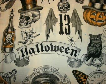 Free Shipping! of 2 Halloween, Sofa Bed Pillow Covers, Throw Pillow Covers, Toss Pillow Covers, Holiday Home Decor, Pumpkins, Skulls, Bats,