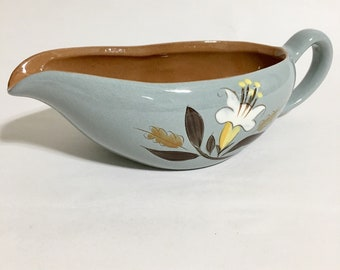 Stangl Pottery Gravy Boat-Golden Harvest-Trenton NJ