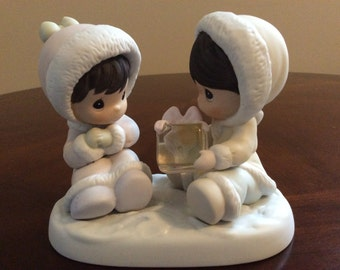 "Precious Moments ""I Only Have Ice For You"" Figurine, Enesco."