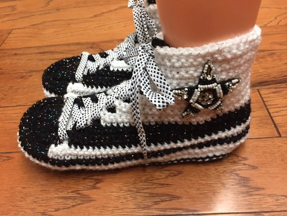shoes custom Womens sneaker converse slippers Converse top high inspired white bling black 10 converse 8 slippers tennis converse converse q6xAIFw