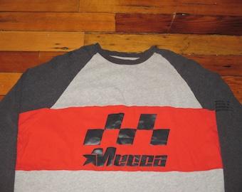 Rare Vintage 1990s Mecca Hip Hop Oversized Motocross Jersey