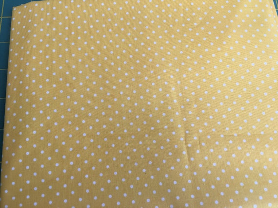 Riley Blake Basics C820-50 Yellow Swiss Dot  1.25 yard