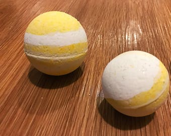 Lemon Cream Pie Bath Bombs
