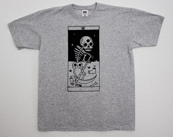 Bestiary tarot - Arcanum XIII - Grey T-shirt